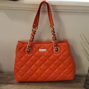 Kate Spade Orange Chain Shoulder Bag